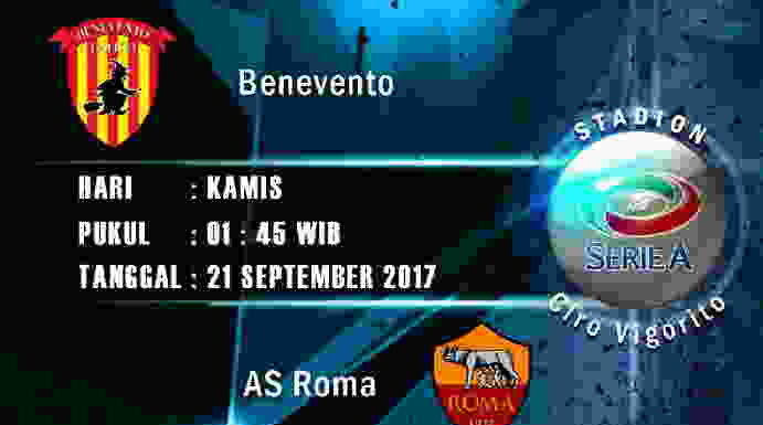 prediksi-skor-benevento-vs-as-roma